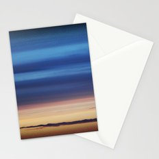 Blue Streaky Clouds Stationery Cards