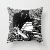 Umibōzu 海坊主 Throw Pillow