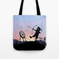 Hawkeye Kid Tote Bag