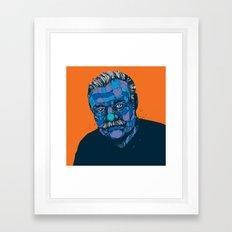 Ernest Hemingway 1899 - 1961 Framed Art Print
