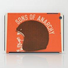 Sons of Anarchy Skull Helmet iPad Case