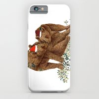 iPhone & iPod Case featuring christmas bears by Hanne De Brabander