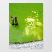 Slime & Light Canvas Print