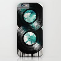 iPhone & iPod Case featuring infinity vinyl by vin zzep