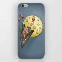 Moon city iPhone & iPod Skin