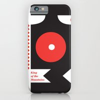 iPhone & iPod Case featuring King of the Mountains, Abstract 1 by Dushan Milic
