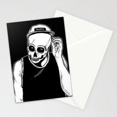 dead cozy boy Stationery Cards