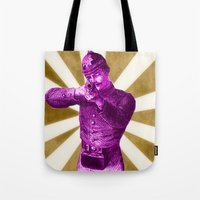 Pink Soldier Tote Bag