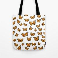 Papillons Tote Bag