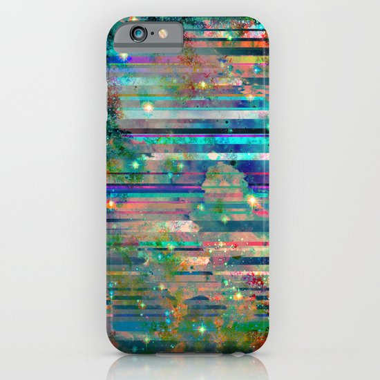 Space Glitch iPhone & iPod Case