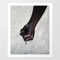 so as not to think Art Print