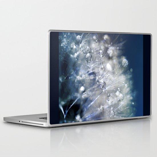 New Year's Blue Champagne Laptop & iPad Skin