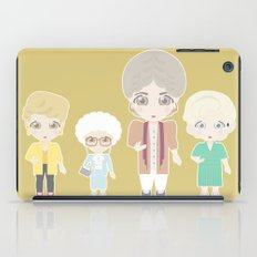 Girls in their Golden Years iPad Case