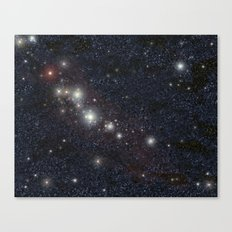 Bright stars Canvas Print