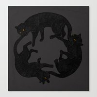 vicious circle Canvas Print