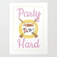 Party Hard Art Print
