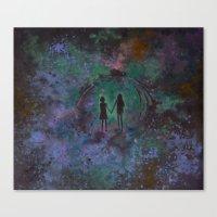 Viaje Al Espacio Variaci… Canvas Print