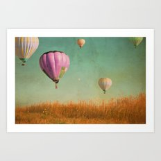 Whimsical Realities  Art Print