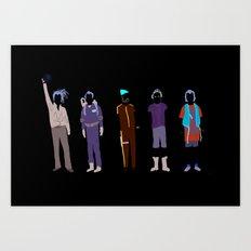 Bill Art Print