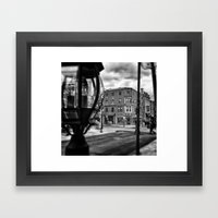 philly south st Framed Art Print