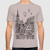 STHLM Silhouettes II Mens Fitted Tee Cinder SMALL