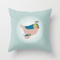 Don't worry. Throw Pillow