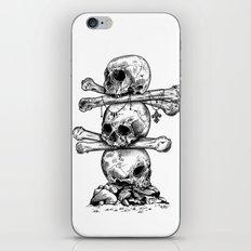 Skull Totem iPhone & iPod Skin