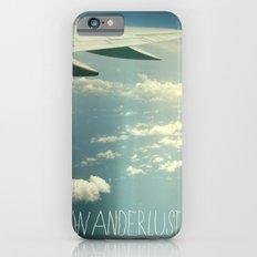 wanderlust airplane Slim Case iPhone 6s