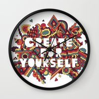 Create For Yourself (2) Wall Clock