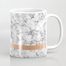 Marble and copper Mug