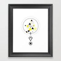 Modern Alchemy Y3 Framed Art Print