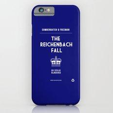BBC Sherlock The Reichenbach Fall Minimalist Poster iPhone 6 Slim Case