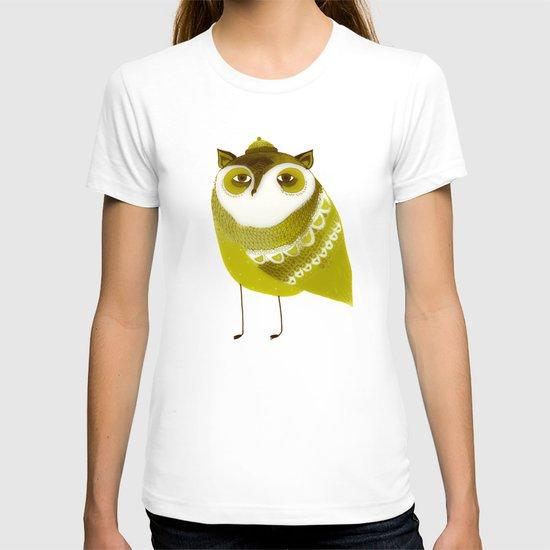 Golden Owl illustration  T-shirt