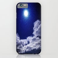 iPhone & iPod Case featuring Signs in the Sky Collection I- in its original deep blue by Orlando