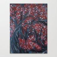 Holding Autumn Canvas Print