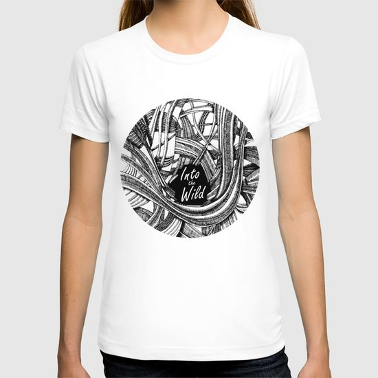 Into The Wild (b&w version) T-shirt