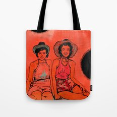 Beach Hats Tote Bag