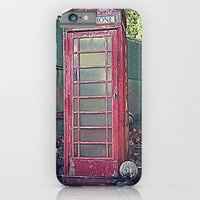 Old Telephone Booth iPhone 6 Slim Case