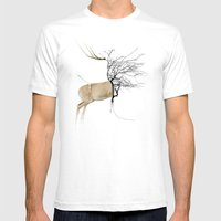 rebus Mens Fitted Tee White SMALL