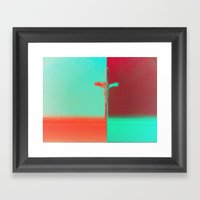 Paid for in Full. Period. Framed Art Print