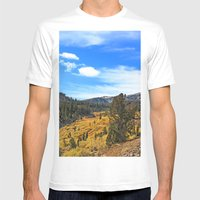 Mt Rose Mens Fitted Tee White SMALL