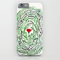 Pretty flower iPhone 6 Slim Case