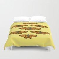 Butterfly Print Duvet Cover