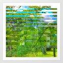 Landscape of My Heart (segment 1) Art Print