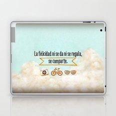 Felicidad - Happiness Laptop & iPad Skin