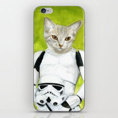 Poopy the Kitty Storm Trooper  iPhone & iPod Skin