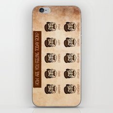Ron Swanson 5 iPhone & iPod Skin