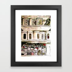Aromas Framed Art Print