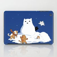 Snowcat iPad Case