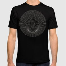 Event Horizon SMALL Black Mens Fitted Tee
